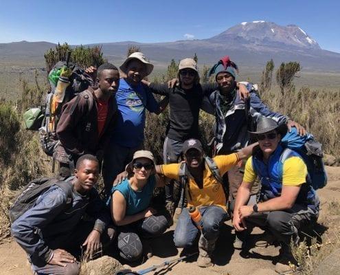Kilimanjaro team photo