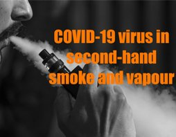 Covid 19 in second hand smoke