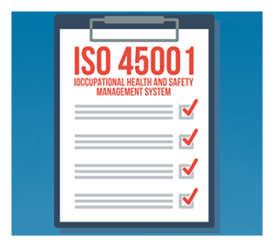 ISO 45001 graphic
