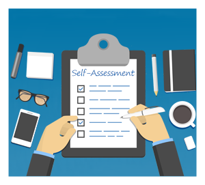 Self Assessment graphic
