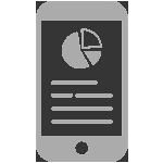 Mobile report icon