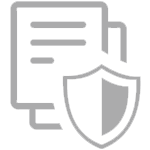 Secure document icon