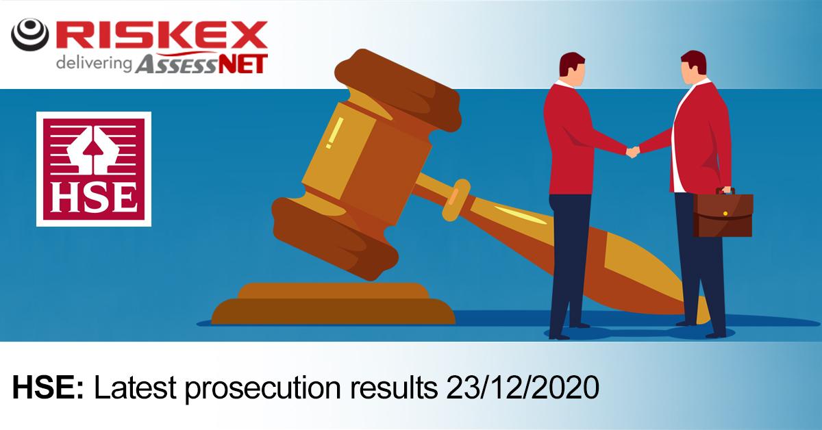23 - 12 HSE prosecution update