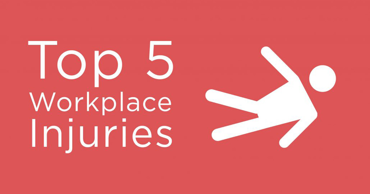 TOP 5 MOST COMMON WORKPLACE INJURIES AI