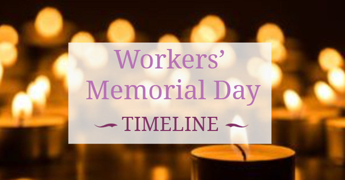 International Workers Memorial Day – 28th April 2021 New AI