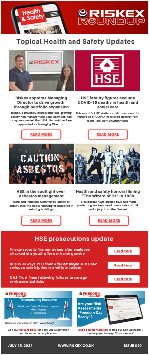Riskex Roundup Health and Safety Newsletter